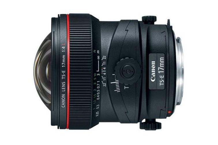 Objetiva Prime Canon EF 17mm f/4L TS-E Tilt Shift