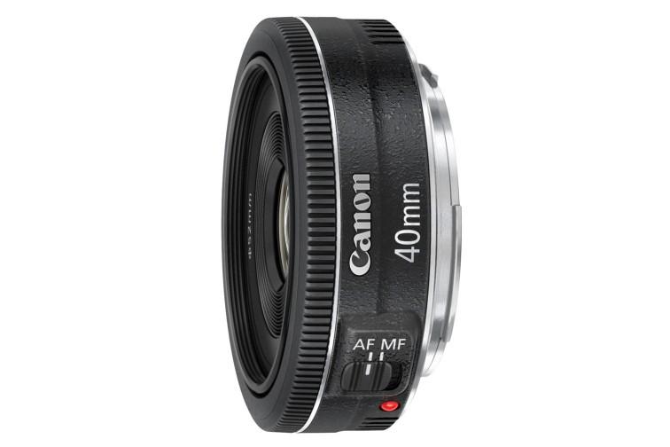 Objetiva Prime Canon EF 40mm f/2.8 STM