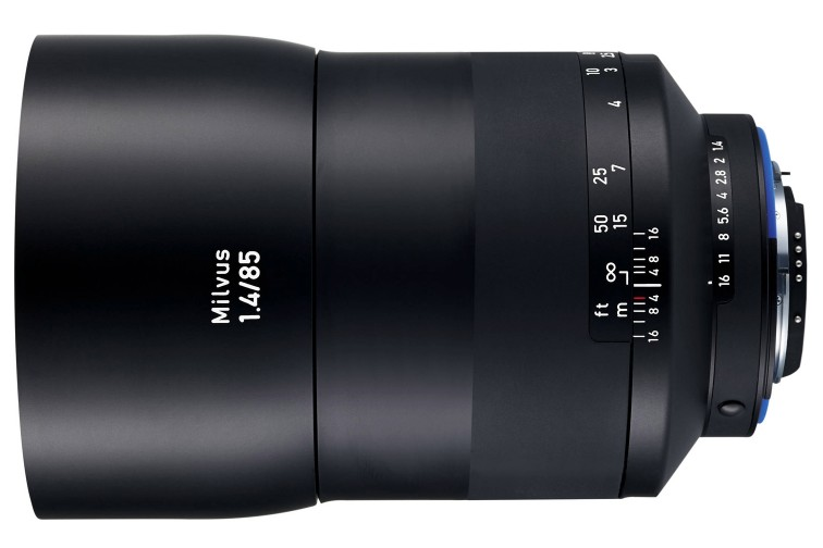 Objetiva Prime Zeiss Milvus ZE 85mm f/1.4 (para Canon EF)