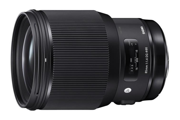 Objetiva Prime Sigma DG 85mm f/1.4 HSM Art (para Canon EF)