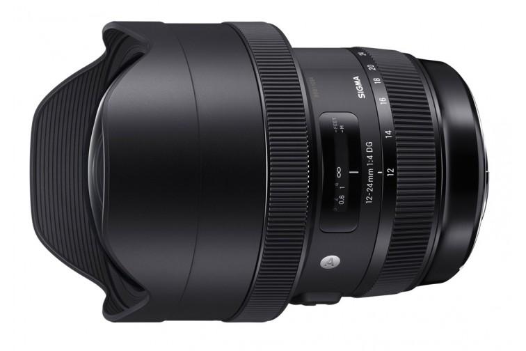 Objetiva Zoom Sigma DG 12-24mm f/4 HSM Art (para Canon EF)