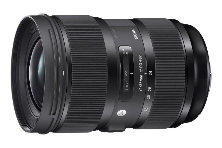 Objetiva Zoom Sigma DG 24-35mm f/2 HSM Art (para Canon EF)