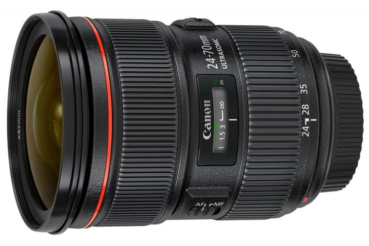 Objetiva Zoom Canon EF 24-70mm f/2.8L USM II