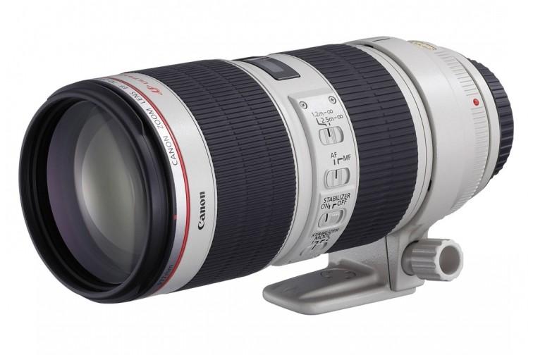 Objetiva Zoom Canon EF 70-200mm f/2.8L IS USM II