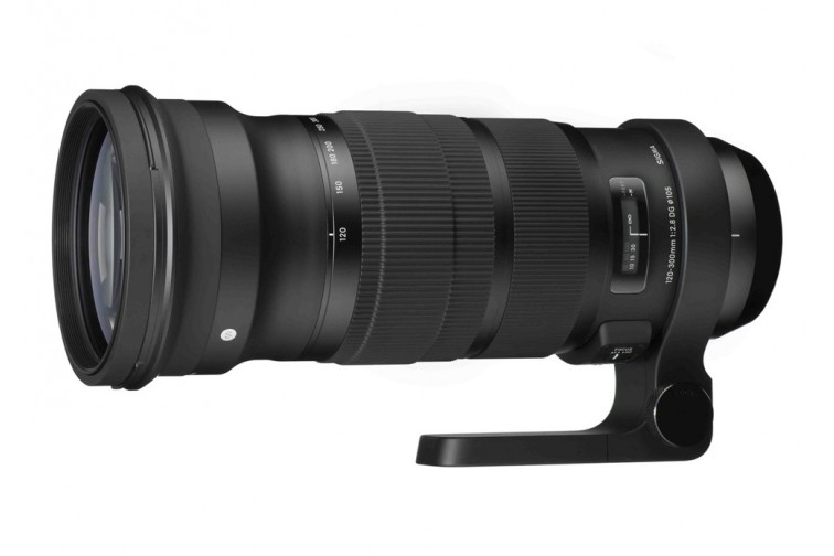 Objetiva Zoom Sigma DG 120-300mm f/2.8 OS HSM Sports (para Canon EF)