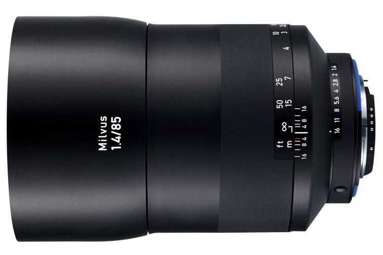 Objetiva Prime Zeiss Milvus ZF.2 85mm f/1.4 (para Nikon F)