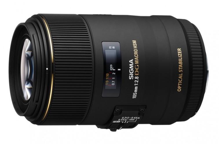Objetiva Prime Sigma DG 105mm f/2.8 EX OS HSM Macro 1:1 (para Nikon F)