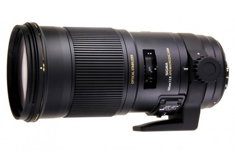 Objetiva Prime Sigma DG 180mm f/2.8 EX APO OS HSM Macro 1:1 (para Nikon F)