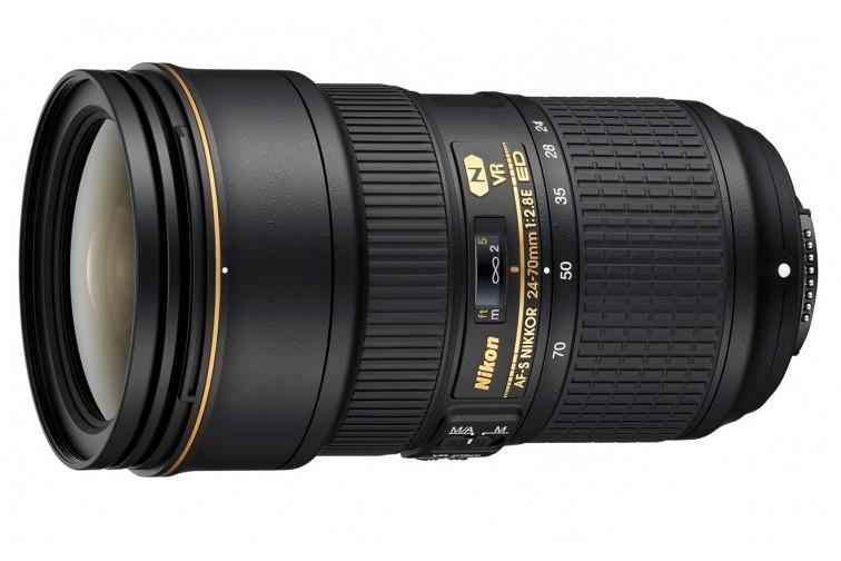 Objetiva Zoom Nikon FX AF-S 24-70mm f/2.8E VR ED