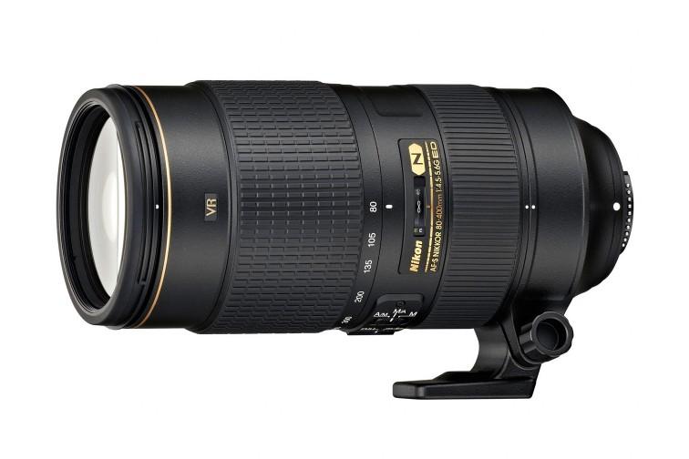 Objetiva Zoom Nikon FX AF-S 80-400mm f/4.5-5-6G VR ED