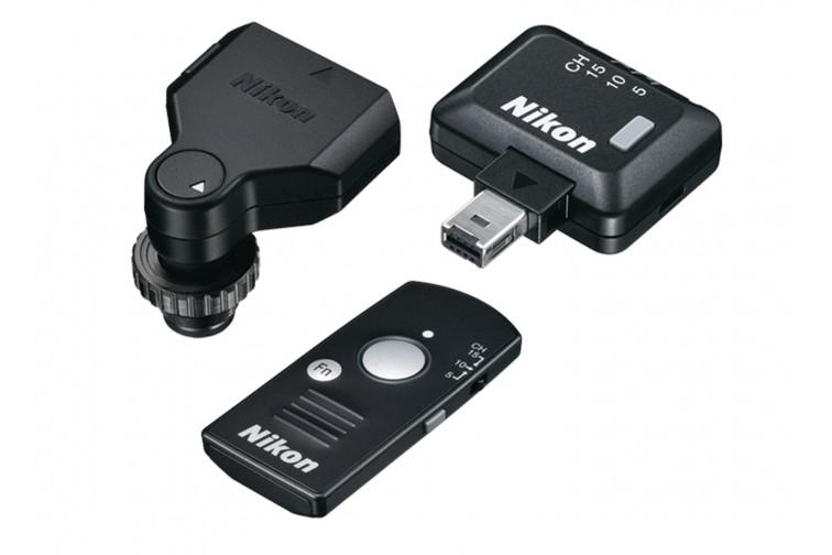 Kit Comando Nikon Disparador sem Fios WR-R10 + WR-T10 + WR-A10