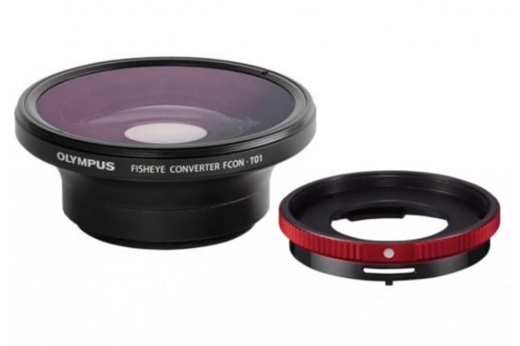 Conversor Fisheye Olympus FCON-T01 + Adaptador CLA-T01
