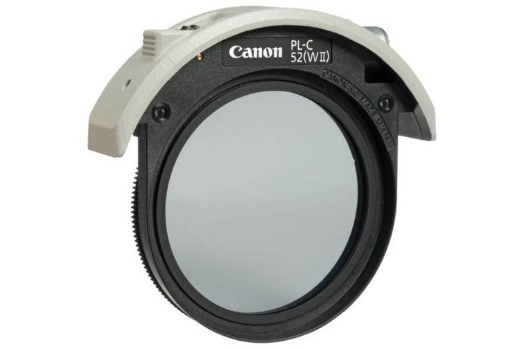 Filtro Polarizador Circular Canon 52mm Drop-In PL-C52 WII