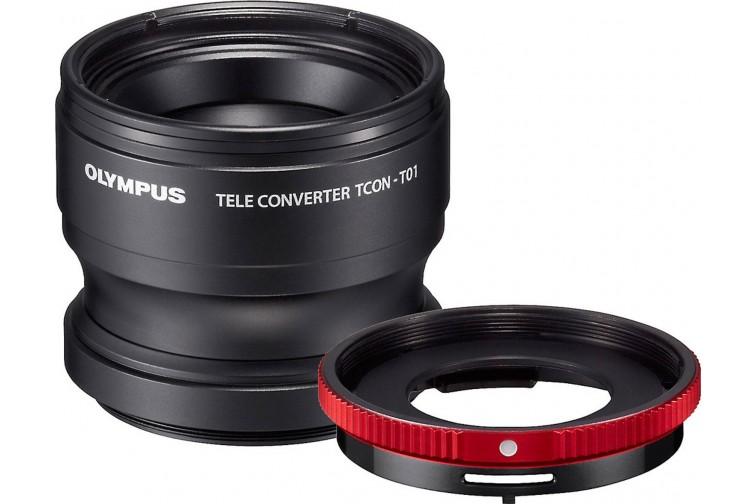 Teleconversor Olympus TCON-T01 6,8x + Adaptador CLA-T01