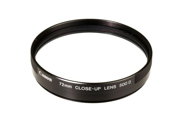Conversor de Aproximação Canon Close-Up 500D Encaixe 72mm