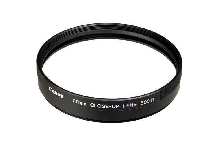 Conversor de Aproximação Canon Close-Up 500D Encaixe 77mm